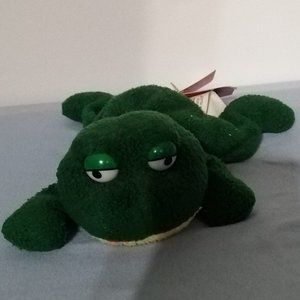 RARE RUSS BERRIE LUV PETS FRUGS THE FROG BEANBAG